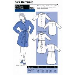 Onion 9025 Plus-Skjorte og skjortekjole-20