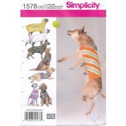 Simplicity 1578 Tøj til store hunde-20