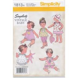 Simplicity 1813 Dukketøj i 3 str.-20