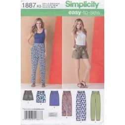 Simplicity 1887 Bukser/nederdel/shorts-20