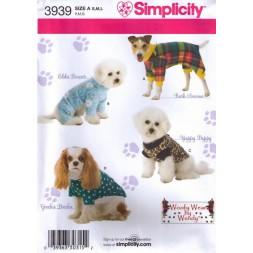 Simplicity 3939 Tøj til hunde-20