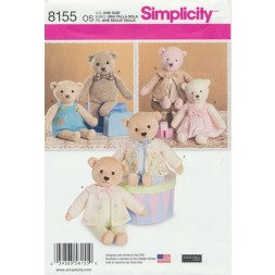 Simplicity8155Bamseogtj54cm-20