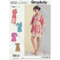 Simplicity 8332 kjole-20