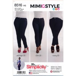 Simplicity 8516 Jeans bukser-20