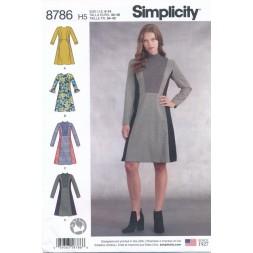 Simplicity 8786 kjole-20