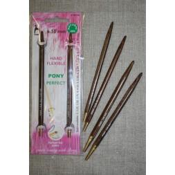 Pony Perfect udskiftelige bambus pinde str.6-7-20