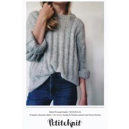 Striber på langs Sweater PetiteKnit strikkeopskrift-20
