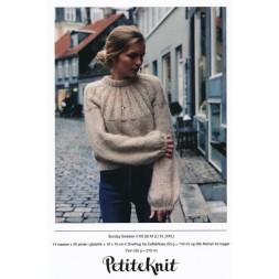 Sunday Sweater PetiteKnit strikkeopskrift-20