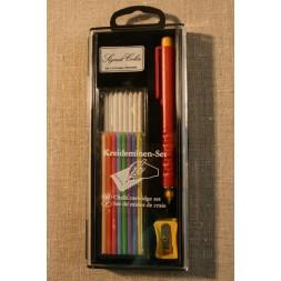 Markeringssæt m/tryk-blyant-20
