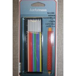 Markeringssæt til tryk-blyant, refill-20