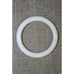 Plastring Gardin ring hvid 29 mm.-20
