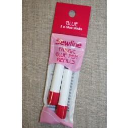 Lim pen til textil, refill-20