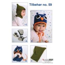 Tilbehør no. 59 Babyhuer/vanter/sokker-20