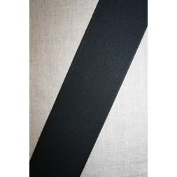 80 mm. kraftig elastik sort-20