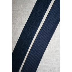 Elastik 30 mm. mørkeblå m/frotte-look-20