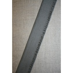 38 mm. flæseelastik grå-20