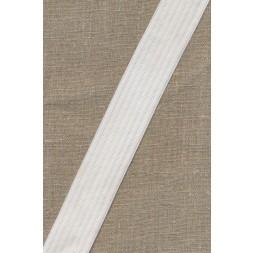 35 mm. hvid elastik med riller-20