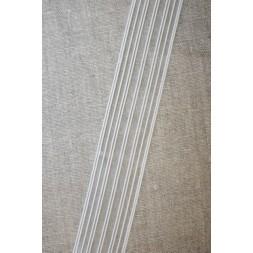 32 mm. elastik hvid transperant-20