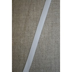 10 mm. elastik hvid-20