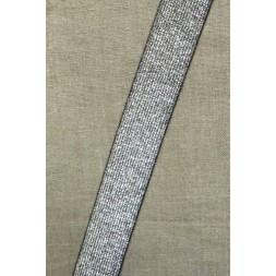 Elastik til bælter 30 mm. sølv-20
