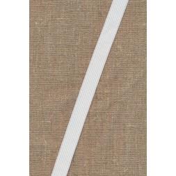 15 mm. elastik hvid blød-20