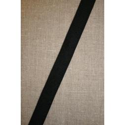 20 mm. elastik, sort-20