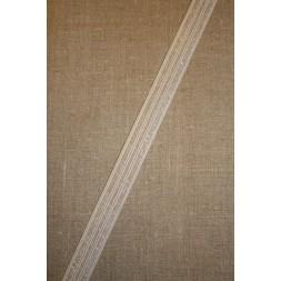 25 mm. elastik hvid-transperant-20
