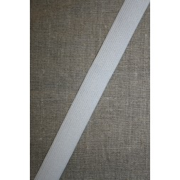 20 mm. elastik hvid-20