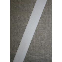 25 mm. elastik hvid-20