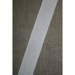 30 mm. elastik hvid-20