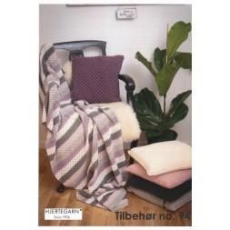 Tilbehør no. 94 Hæklede puder og tæppe-20