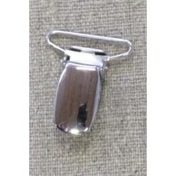Seleclips i sølv 25 mm.-20