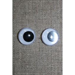 Bamse øjne-Rulleøjne 15 mm.-20