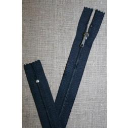 23 cm. lynlås YKK, mørk denim-20