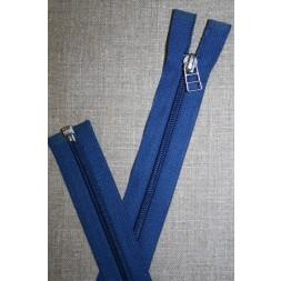 69 cm lynlås m/sølv vedhæng, koboltblå-20