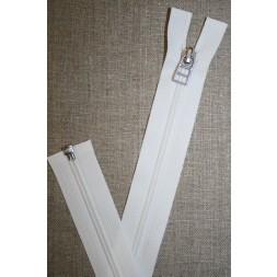 69 cm lynlås m/sølv vedhæng, hvid-20