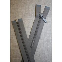 61 cm. delbar lynlås YKK, grå-20
