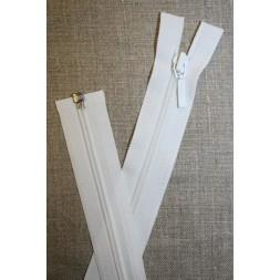 61 cm. delbar lynlås YKK, hvid-20