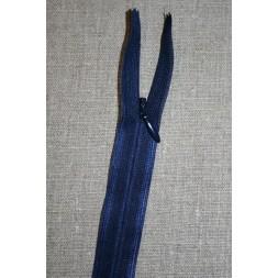 55 cm. usynlig lynlåse, mørkeblå-20