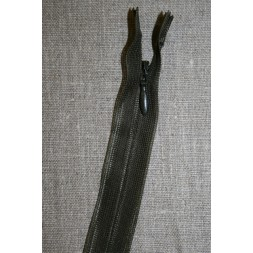 42 cm. usynlig lynlåse, army-20
