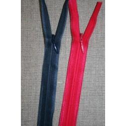 35 cm. usynlig lynlåse mørkeblå-20