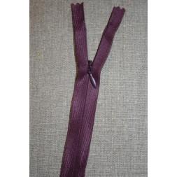 26 cm. usynlig lynlåse, lilla-20