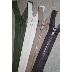 25-40 cm delbar plast lynlås-20