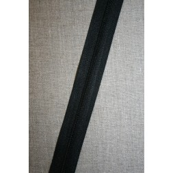 Rest Lynlås i metermål, sort, 85 cm.-20