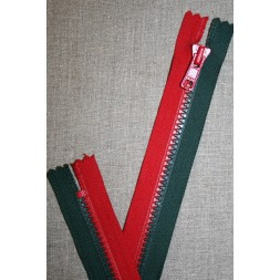 17 cm. lynlås rød/grøn-20