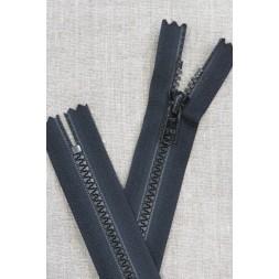 20 cm. plast lynlås sort 6 mm. lommelås-20