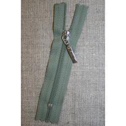 08 cm m/sølv vedhæng, støvet grøn-20