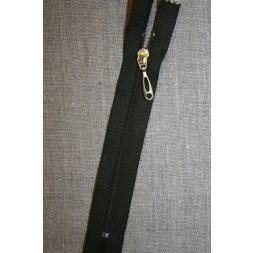 13 cm plast lynlås-guld vedhæng, army-20