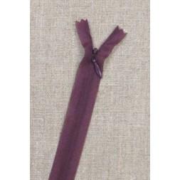 16 cm usynlig lynlåse, rød-lilla-20