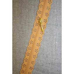 Blonde-lynlås i metermål, carry-20